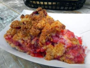 Mmm ... pie.